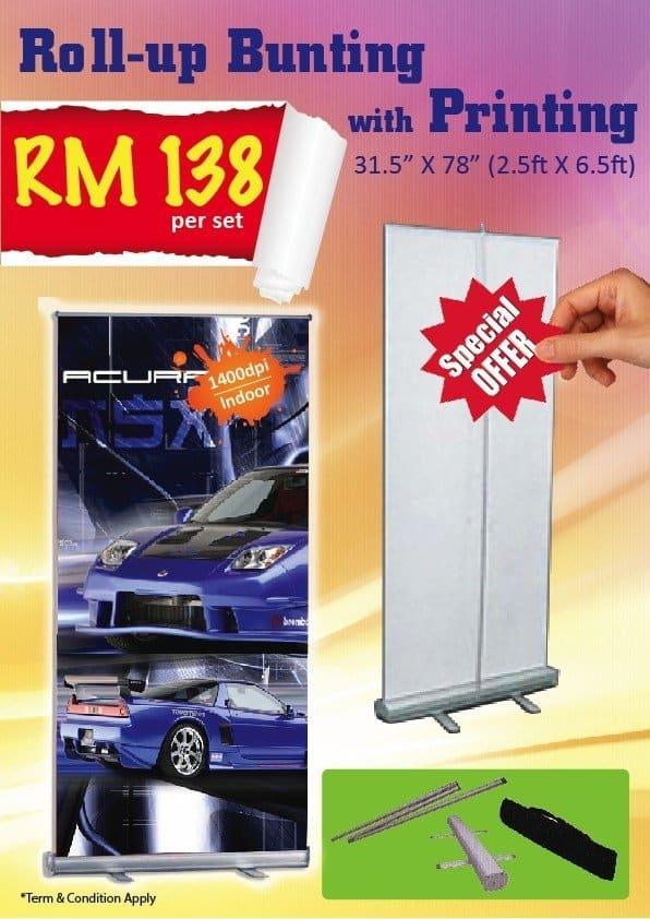 Bunting Promo B RM138