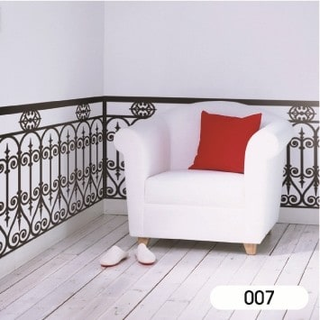 Victoria Balustrate Wall Sticker